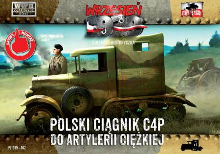 WWII C4P Polish Heavy Artillery Tractor