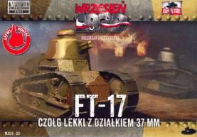 FT17 Light Tank w/Round Turret & 37mm Gun
