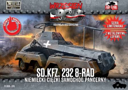 WWII German Sd.Kfz.232 8-Rad Heavy Armoured Car