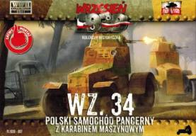 WWII WZ34 Polish Armored Car