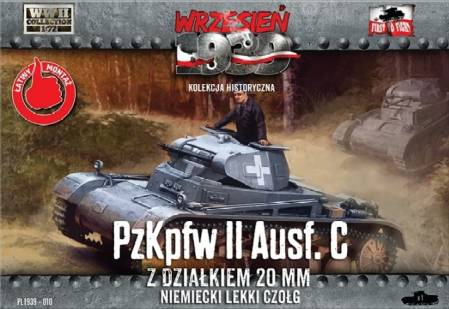 WWII PzKpfw II Ausf C German Light Tank