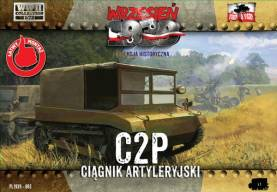 WWII C2P Polish Light Artillery Tractor