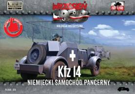 WWII Kfz14 German Armored Radio Car