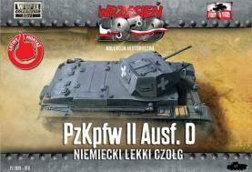 WWII PzKpfw II Ausf D German Light Tank