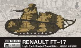 Renault FT17 Light Tank w/Riveted Turret