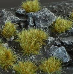 6mm Grass Tufts - Mixed Green