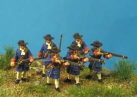 The Imperial Army Vienna 1683 - Musketeers Firing Line