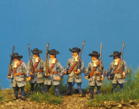 The Imperial Army Vienna 1683 - Musketeers in Reserve Waiting