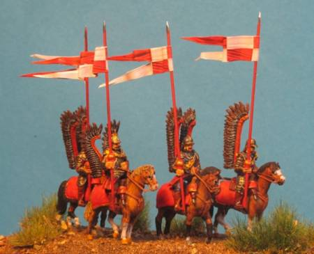 Winged Hussar - Standing Horses