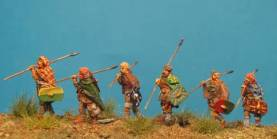 Ancient Germanics Marching 2