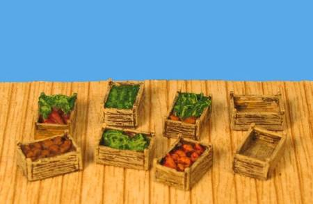 Supply Set - Vegetable Crates