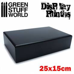 Rectangular Plinth 25x15cm (9.84x5.9in)