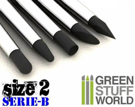 Color Shapers Brushes Size 2 - Series B