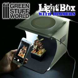Portable Lightbox Studio with Dimmers