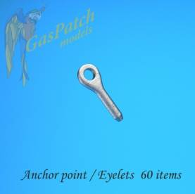 Metal Anchor Points/Eyelets (60)