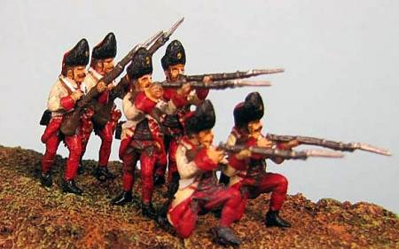 7 Years War: Austrian Habsburgs- Hungarian Grenadiers Firing Line no. 1