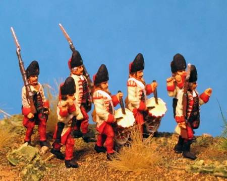 7 Years War: Austrian Habsburgs- Hungarian Grenadiers Command Group