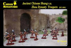 Ancient Chinese Shang vs Zhou Dynasty Troopers