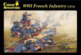 WWI French Infantry 1914