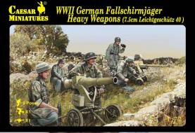 WWII German Fallschirmjager Heavy Weapons