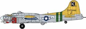 B17 Flying Fortress D-Day Doll Bomber (Ltd Edition)
