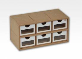 Six-Drawer Module