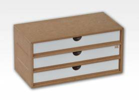 Three-Drawer Module