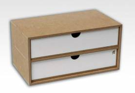 Two-Drawer Module