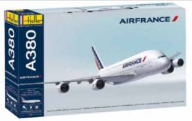 A380 Air France Commercial Airliner w/Paint & Glue