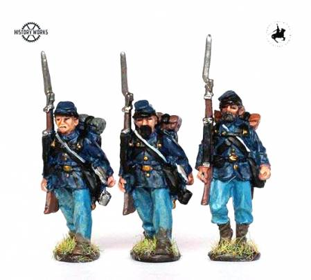 Union Infantry Marching Set #1