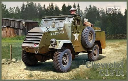 Chevrolet C15TA Armored Carrier Truck