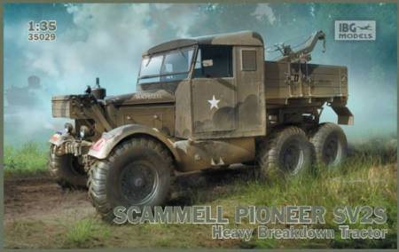Scammell Pioneer SV2S British Heavy Recovery Tractor