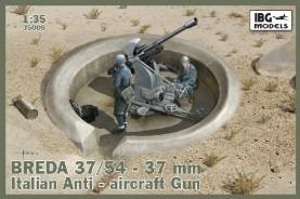 Breda 37/54 Mod 39 Italian 37mm Anti-Aircraft Gun