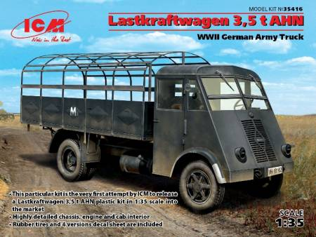 WWII Lastkraftwagen 3,5t AHN Open Top German Army Truck