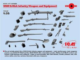 WWI British Infantry Weapons & Equipment