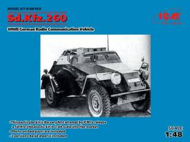 WWII German SdKfz 260 Radio Communication Vehicle