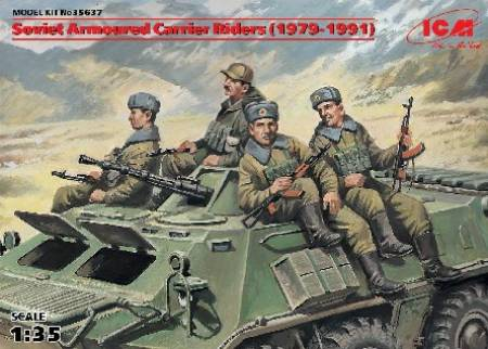 Soviet Armored Carrier Riders 1979-1991 (4)