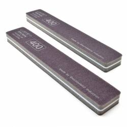 Premium Ultra-Precision Softback Sanding Stick, Medium 400 Grit, 2-Pack