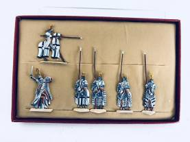 Zinnfiguren - Teutonic Knights #1 - Only 1 Set Available