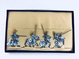 Zinnfiguren - Teutonic Knights #2- Only 1 Set Available