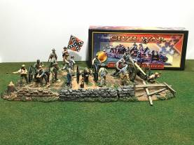Rolling Thunder Confederate Artillery Battery - Complete Set