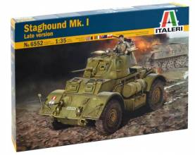 Staghound Mk I Late Version Armored Vehicle