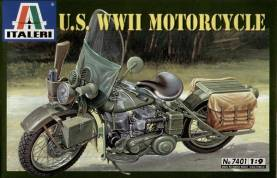 WWII WLA 750 US Army Motorcycle