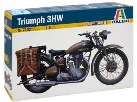 WWII Triumph 3WH Military Motorcycle