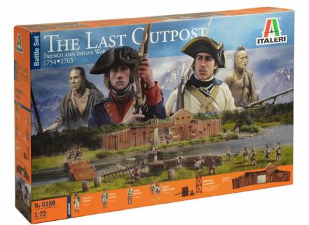 Diorama Set: The Last Outpost 1754-1763 French &  Indian War