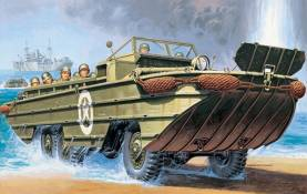 US DUKW Amphibious Military Truck