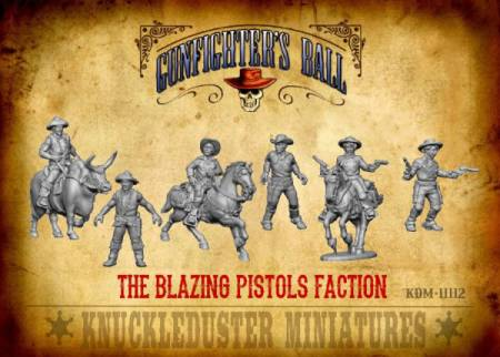 Gunfighters Ball - Blazing Pistols Faction Pack