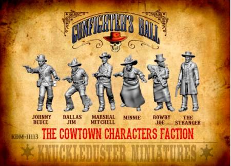 Gunfighters Ball - Cowtown Characters Faction