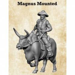 Mangus Mounted on Ox