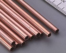 Copper Tube .014 Wall - 5/32 x 12- 1pc.